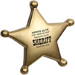 Sheriffs Badge Stress Balls